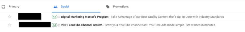 inbox advertising